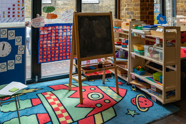 Reception Class maths area